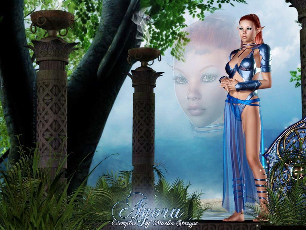 Бал Континента. Экзотические наряды fantasy_girls_1368