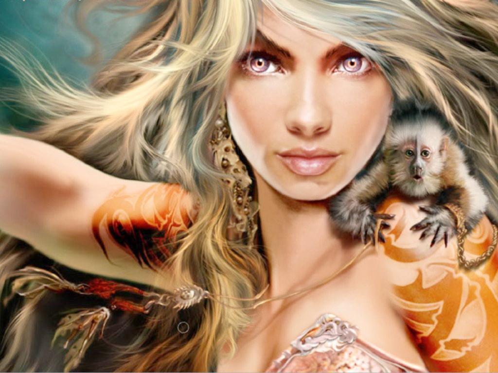 Бал Континента. Экзотические наряды fantasy_girls_1485