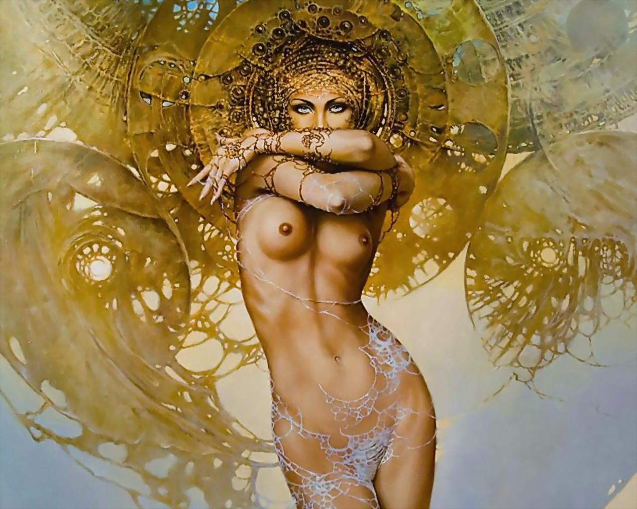 Бал Континента. Экзотические наряды fantasy_girls_1657