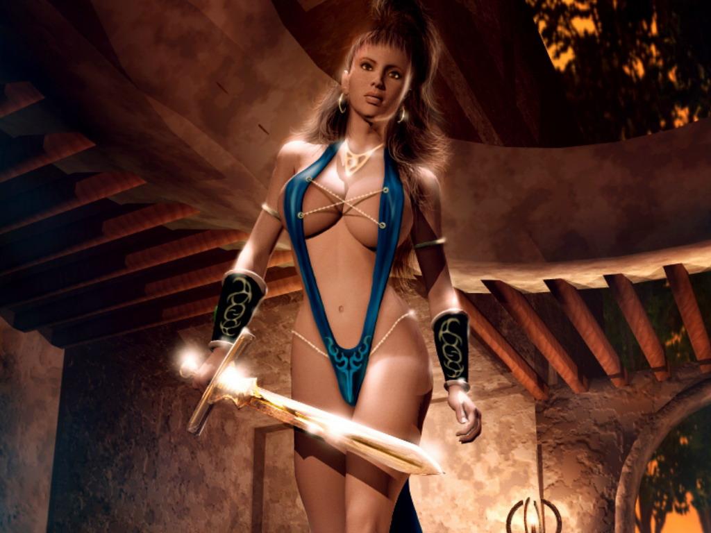 Порно женщины воительницы