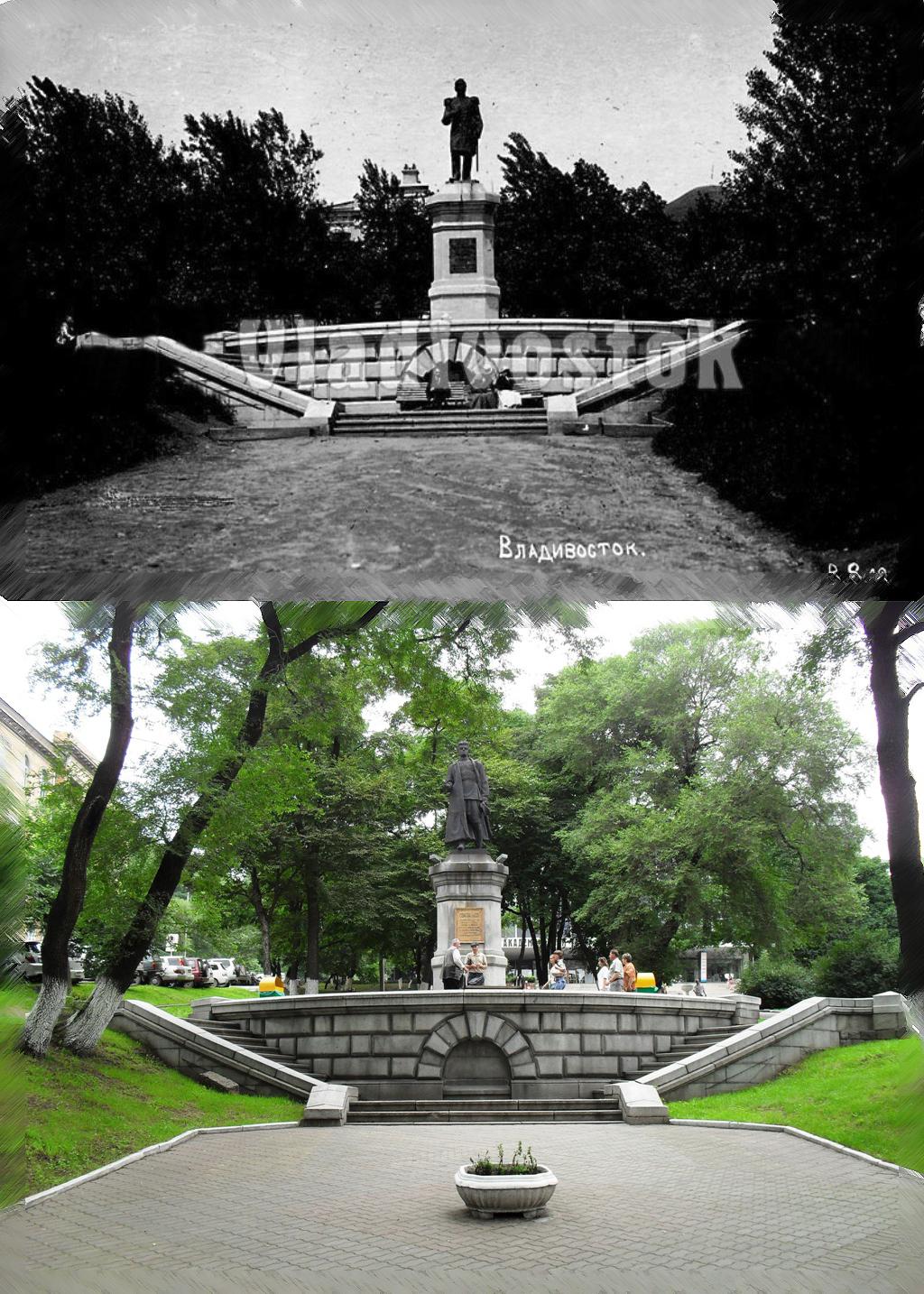 памятник Лазо