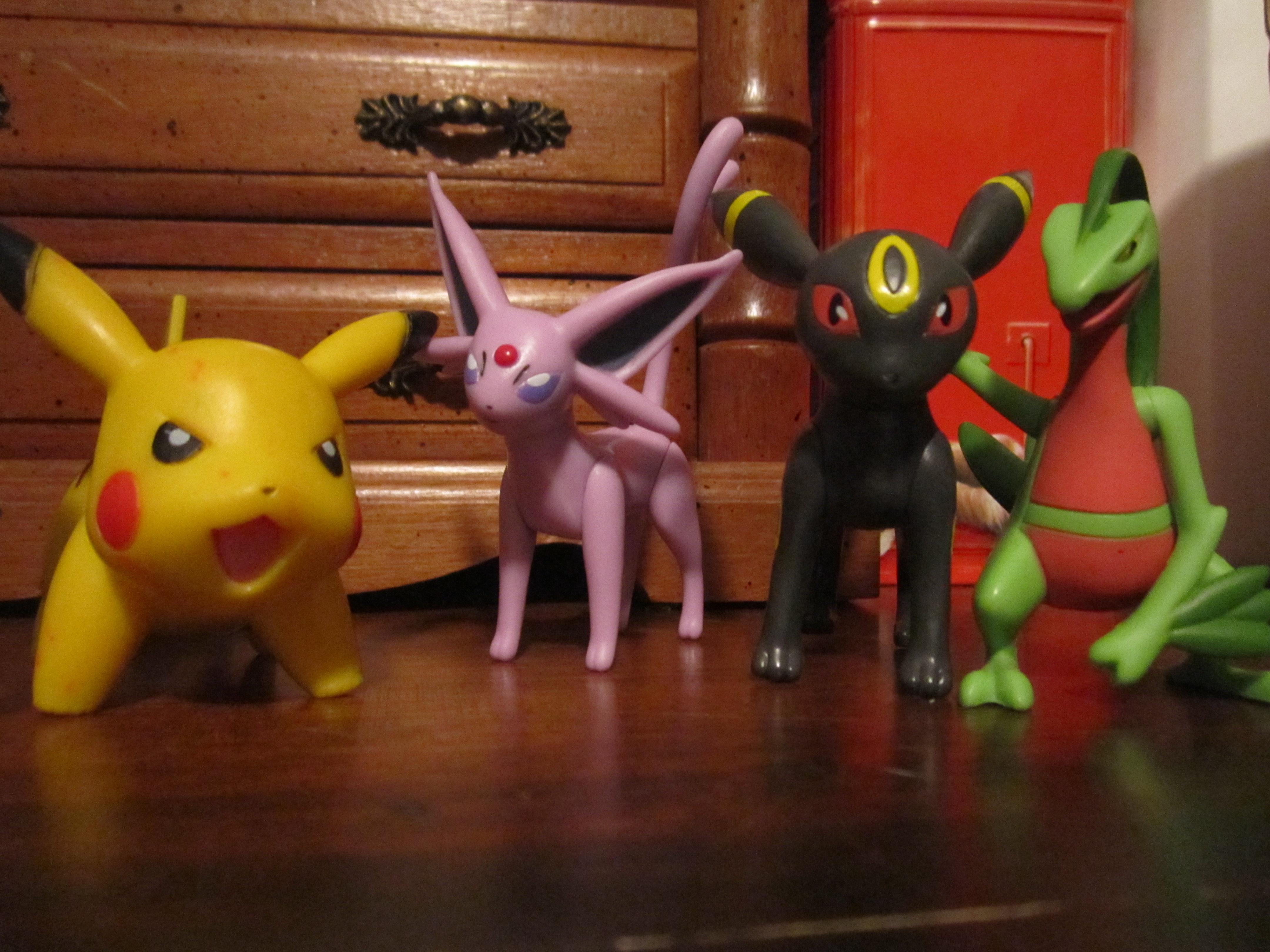 Pokemon Jakks Figures