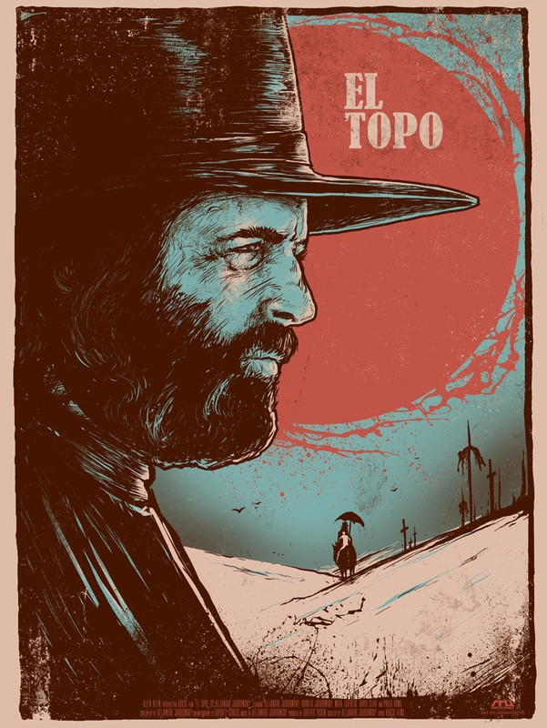 review of el topo Like a prophecy too dangerous for its times, alejandro jodorowsky's infamous, myth-and-blood-soaked cult film el topo went into hiding not long after its 1970 release.