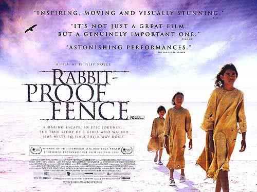 film techniques in rabbit proof fence Like the question says what are some examples of language techniques used in rpf other than the rabbit-proof fence itself which is symbolisation and metaphoric pls help, thanks much btw, this is the book i'm talking about, not the film.