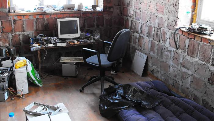 жилище хакера