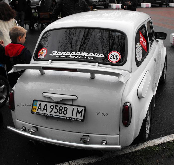 выставка ретро-автомобилей, начало