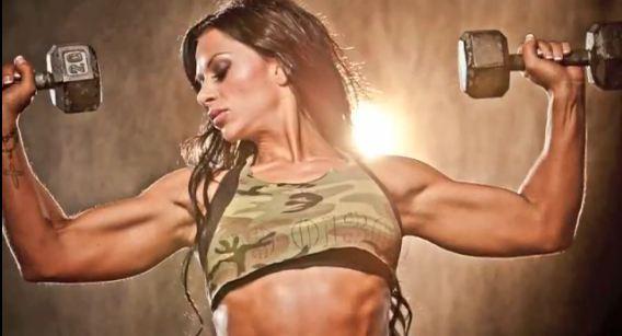 ashley horner фитнес девушки