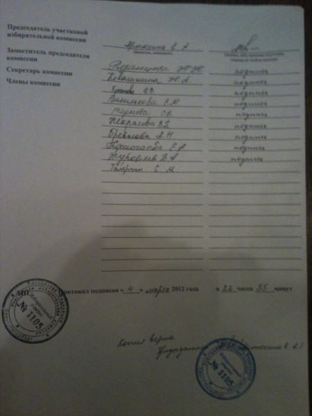 Vidannaja kopia protokola 1105 - falshivka str 3