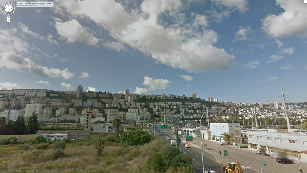 Google Street View уже в Израиле