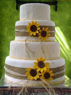 sunflower-wedding-cakes-3