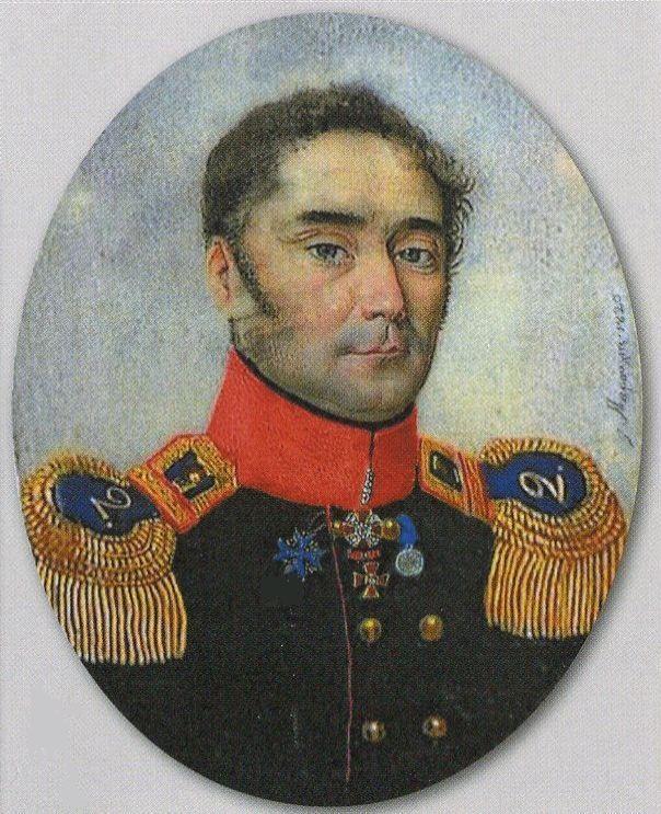 Кисловский в мундире Ревельского полка