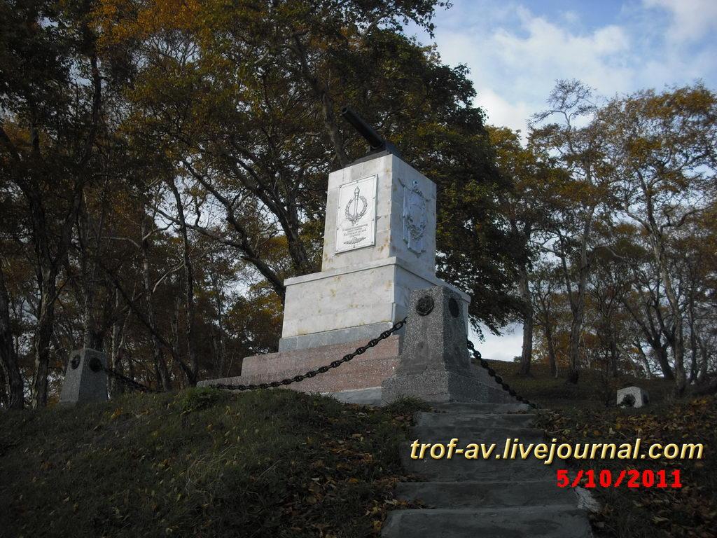 Памятник героям 3 батареи Максутова, Никольская сопка, Петропавловск-Камчатский